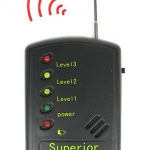 Audible / LED Alarm Professional RF Signal Detector